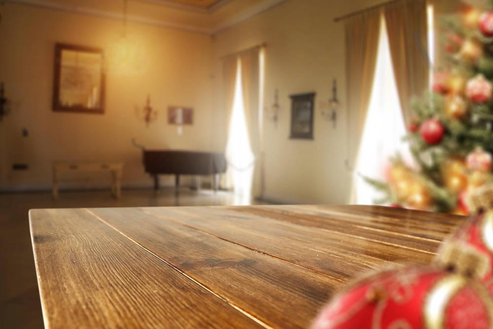 Una mesa nueva para Navidad