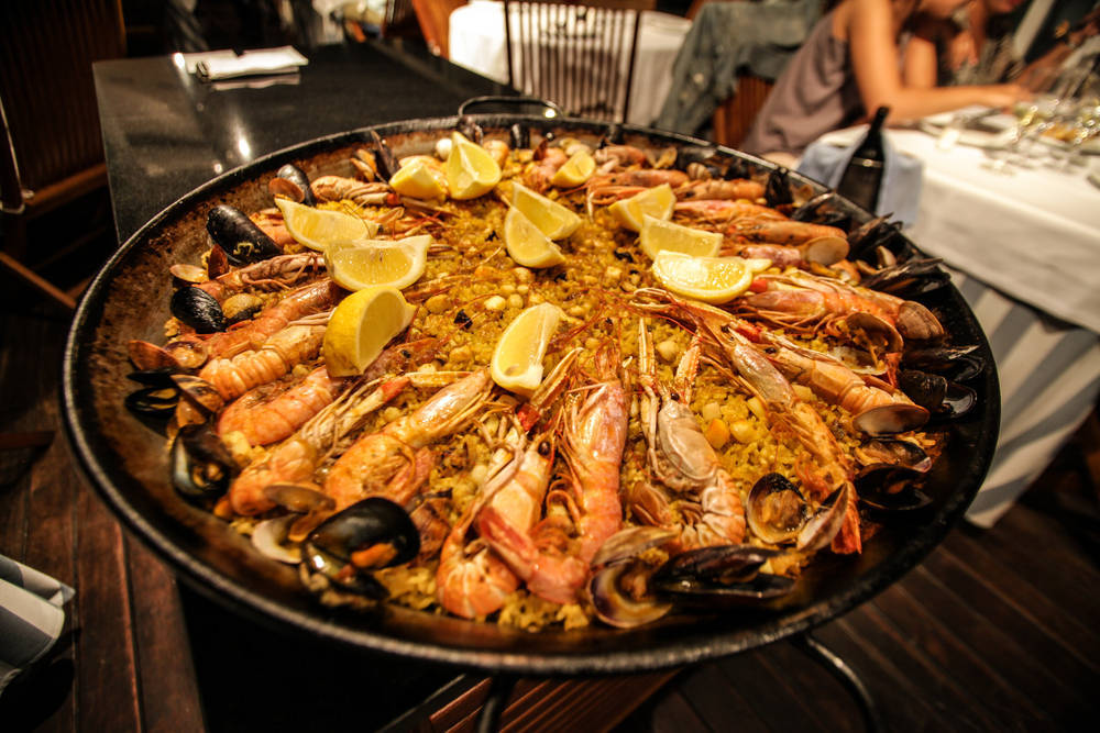 "Gastronomía ""typical spanish"""
